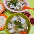 Fish Soup - Medium ($7) And Large ($9)