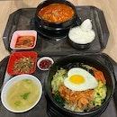 Bibimbap ($8.50) & Kimchi Soup ($8)