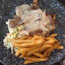 Mushroom Chicken Chop (<$10)