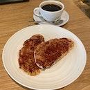 PBJ Toast ($7) And Black Coffee ($5)