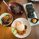 Otah Youtiao ($12), Chap Chye ($13), Ayam Buah Keluak with Rice ($22)