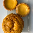 Egg Tarts - Cookie Crust & Pastry Crust ($2.30 each) & Polo Bun ($2)