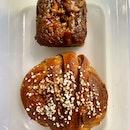 Sticky Date Toffee Cake ($4.50?) & Kanelbullar ($4)