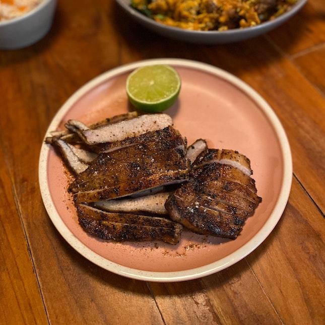 Grilled Pork Jowl ($30)