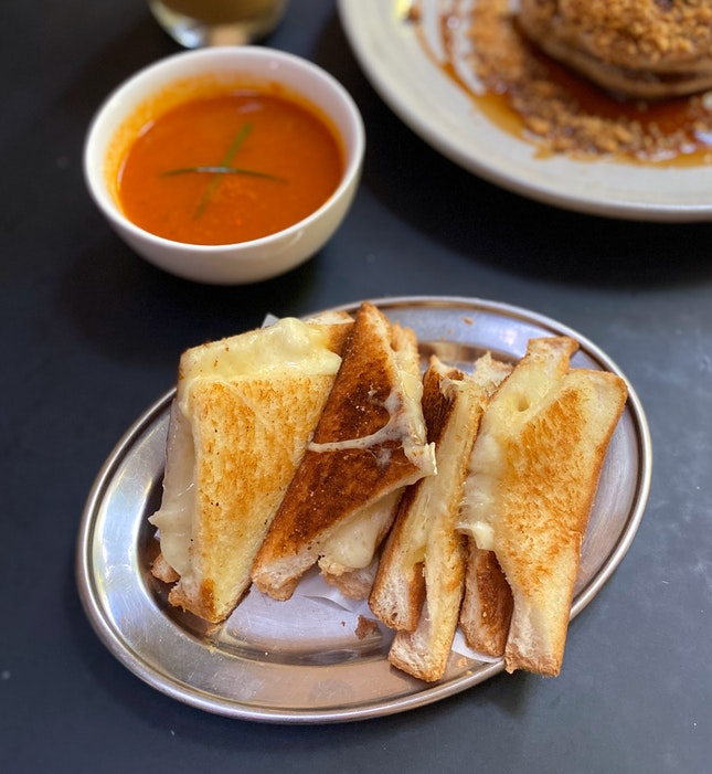 Grilled Cheese Sandwich ($14)