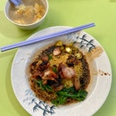 Wanton Noodles ($3.50) from Wah Kee Noodles #02-125
