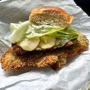 Chicken Schnitzel Sandwich ($18)
