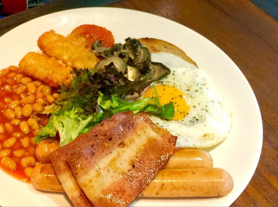 Big Breakfast For Weekend Brunch