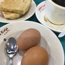 Kaya Egg Coffee Set