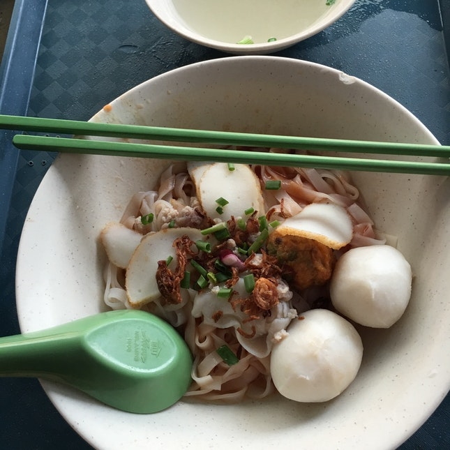 Fish Ball Kway Teow