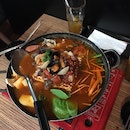 Army's Stew With Spicy Octopus & Seafood