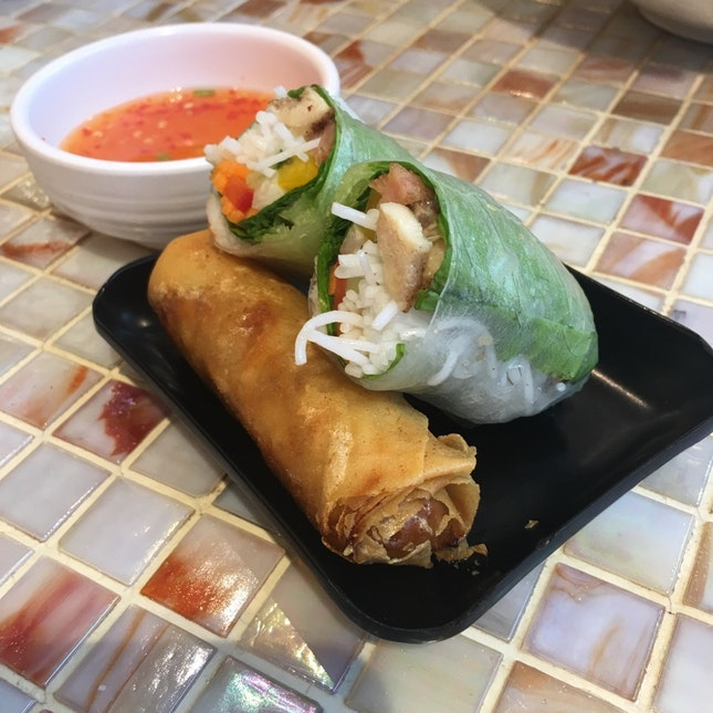 Summer Roll And Spring Roll