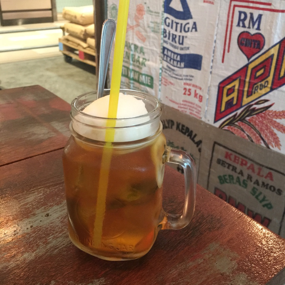 Iced Lemon Tea