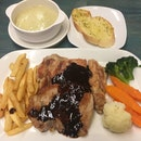 Chicken Chop Pork Chop Combo