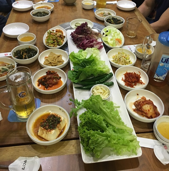 The Side Dishes - Banchan