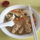 Fish And Minced Meat Soup