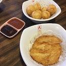 Fried Fishcake And Sotong Balls