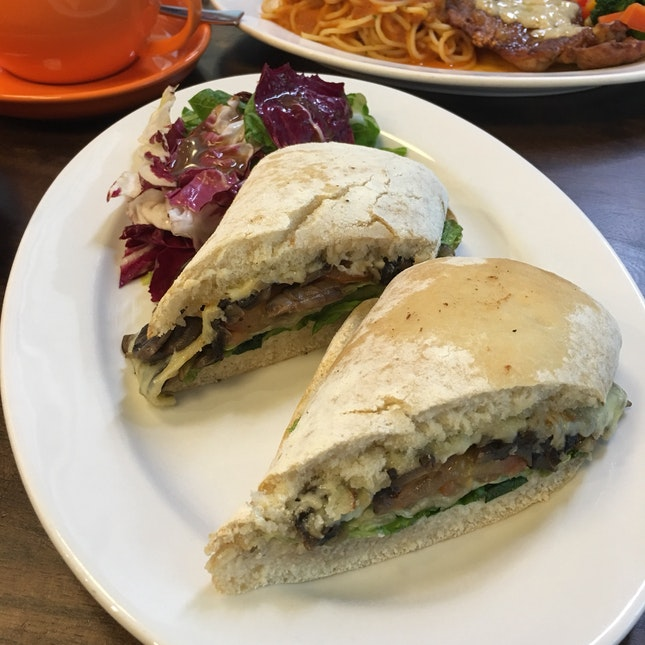 Swiss Mushroom Sandwich
