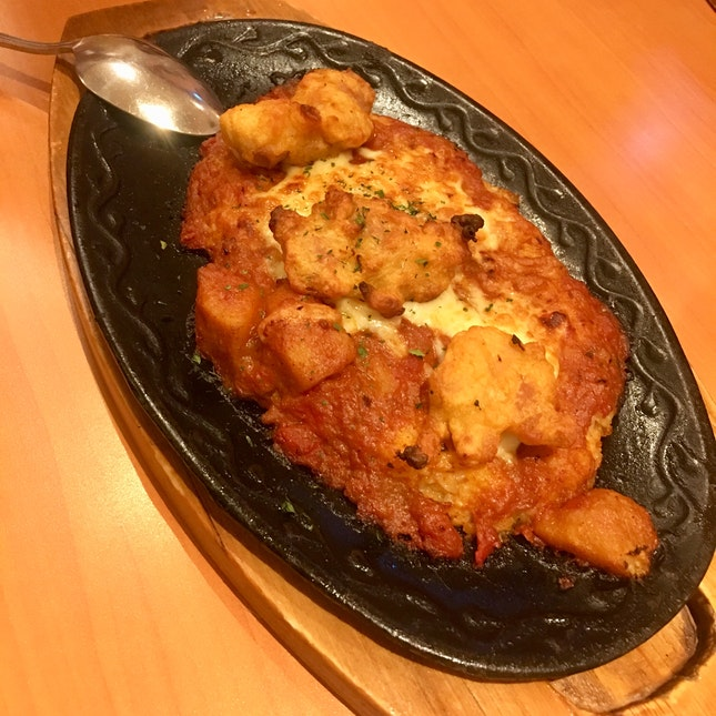 Curry Chicken Baked Rice
