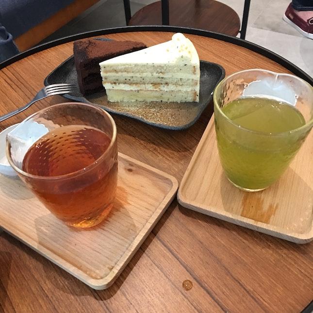 Green Tea & Cake