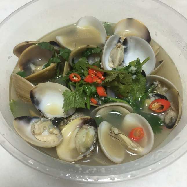 Clams (Boiled)