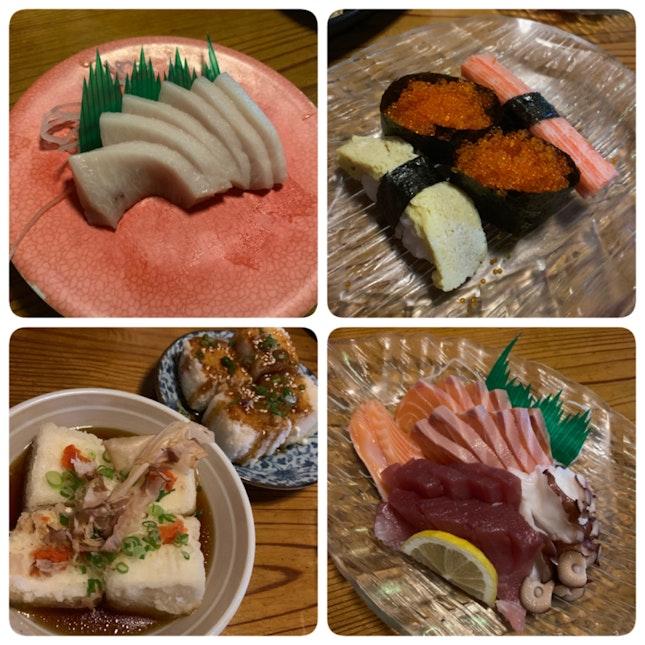 Sushi, Sashimi & Tofu