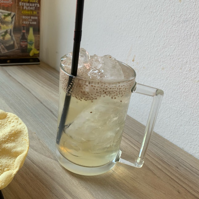 Iced Honey With Chia Seed