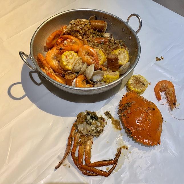 Live Crab Combo