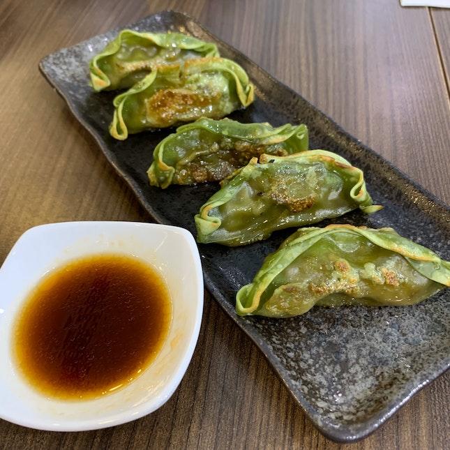 Gyoza (Green Tea)