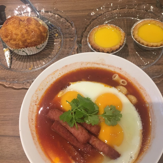Famous HK Egg Tart Turned Cafe