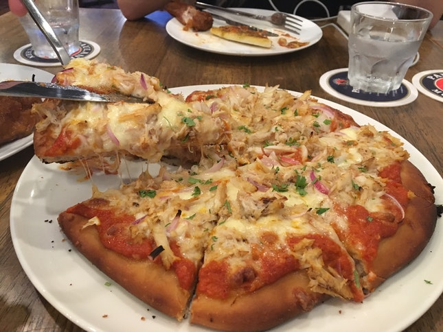 Chilli Crab Pizza
