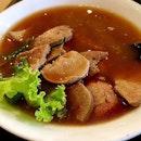 Pig's Liver Soup #burpple #yummy #delish #foodism #foodpic #foodshare #singaporefoodie #foodaffair #singaporefoodhunt #singaporefoodies #singaporefoodplaces #singapore #igsg #instafood #instadaily #instagramsingapore #eat #sgmakan #sgfoodies #instafood #igsg #exploresingapore #umami #foodporn #foodielove #foodstagram #oldstreet #bakkutteh #kallangwave