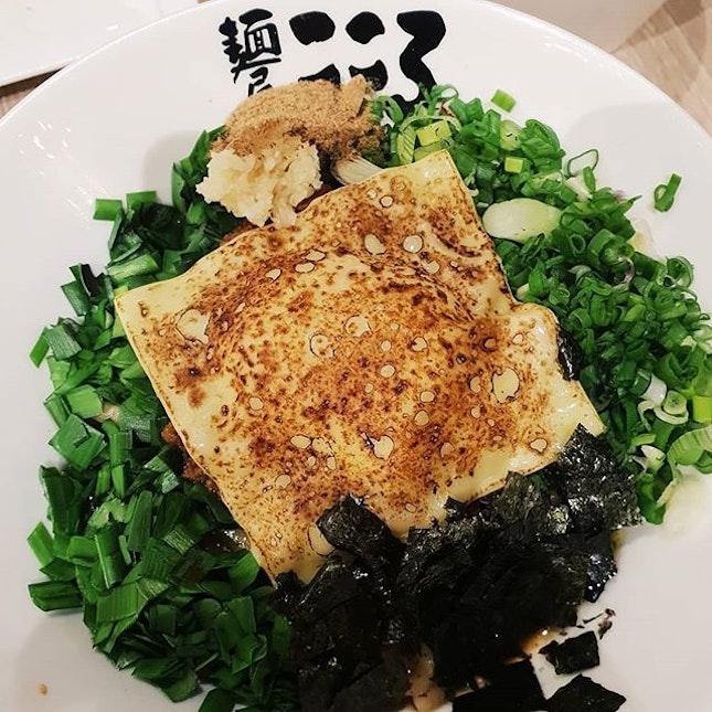 📍 Menya Kokoro  Ordered Cheese Soba(Regular, $12.80), Tokyo Soba(Large, $12.80) and Gyoza($4.80) at Menya Kokoro!