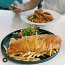 Fish & Chips / Soft-shell Crab Pasta