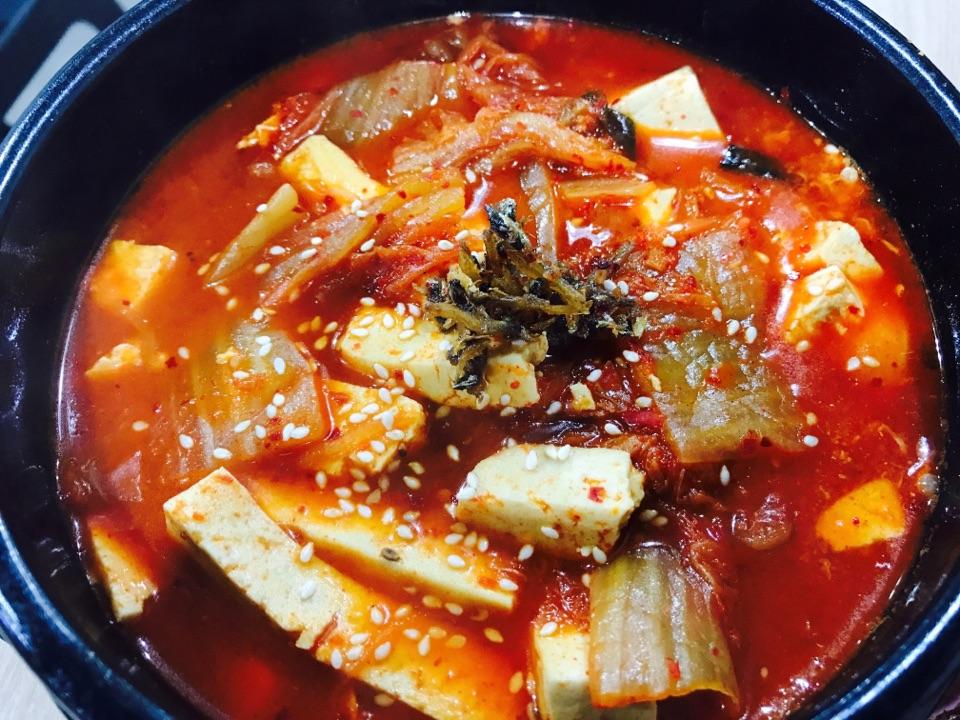 Kimchi Toufu Stew