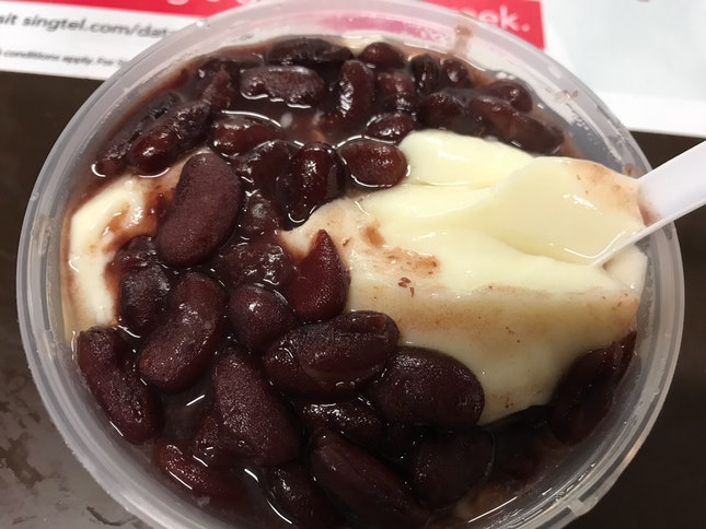 Beancurd With Red Kidney Beans