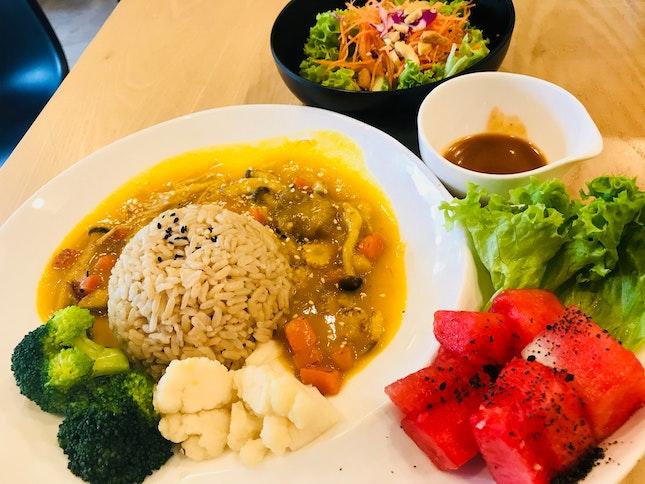 Pumpkin Vegetable Rice