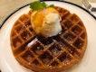 Waffle And Vanilla Bean Ice Cream