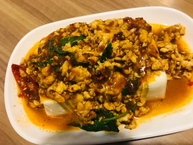 Basil Chicken Tofu