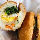 Egg And Floss  Banh Mi