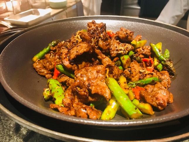 Wagyu Beef Stir Fry
