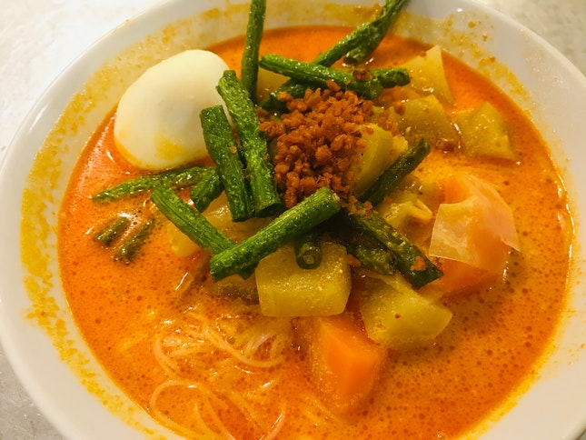 Curry Vegetables With Bee Hoon