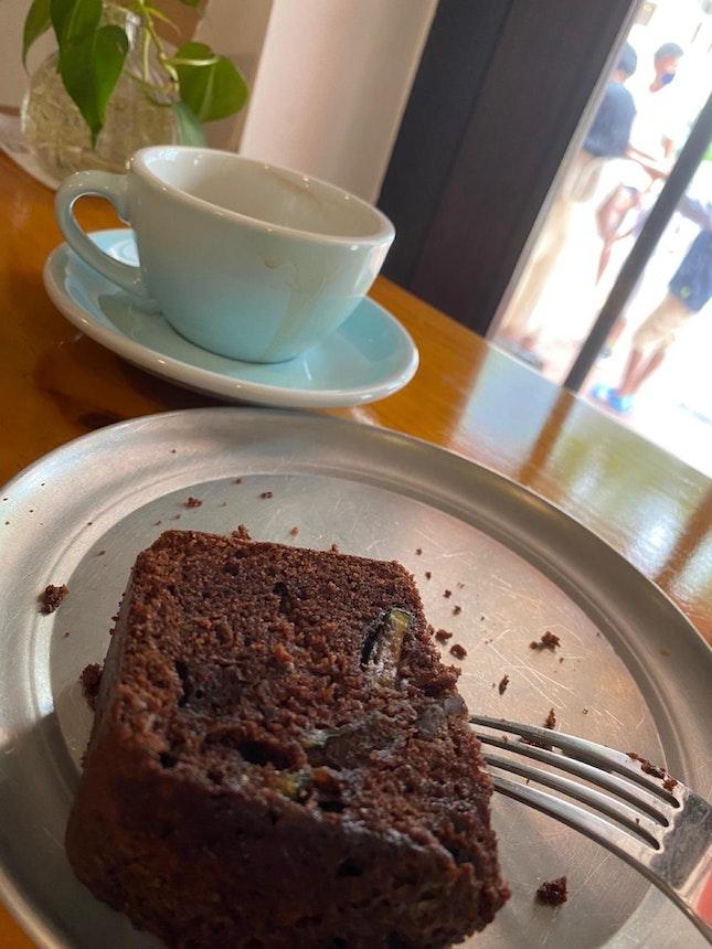 Dark Chocolate Zucchini Cake