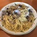 Asari Mushroom Soup Pasta