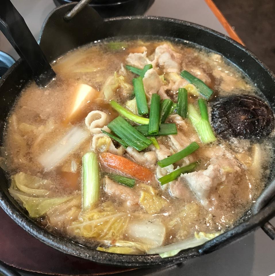 Pork Sukiyaki