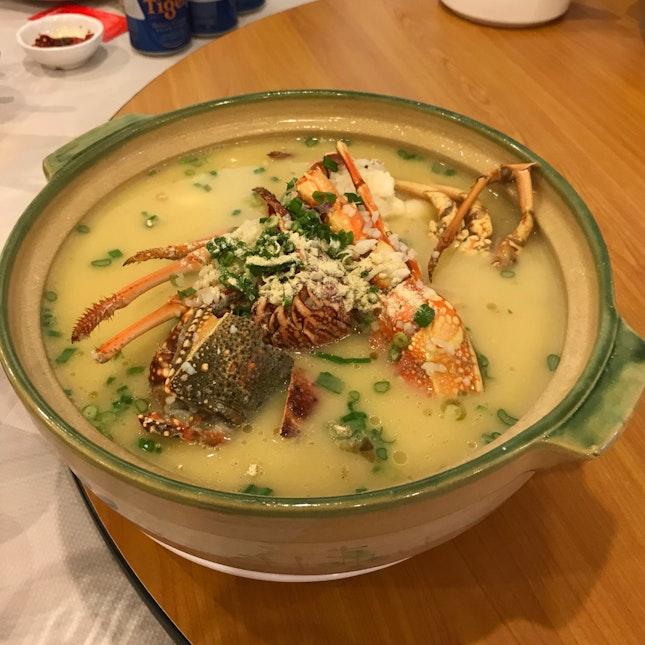 Signature Lobster Porridge