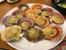 Half Shell Scallop in Garlic Sauce