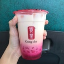 Rose Milk Tea with White Pearl