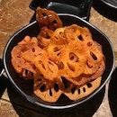 Fried Sliced Lotus