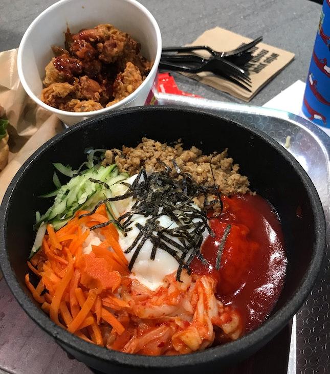 Chicken Bibimbap • K-pop Chicken